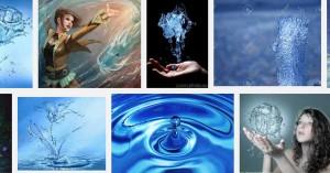 магия с вода за привличане на любим човек