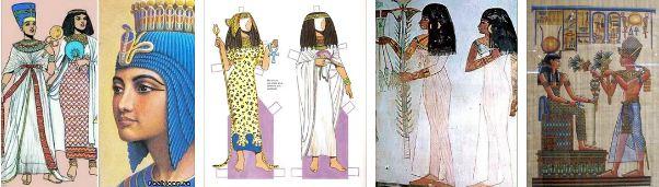 мода в древен египет