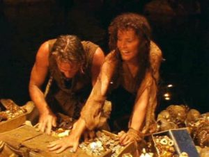 Проклятие пази пиратските съкровища.