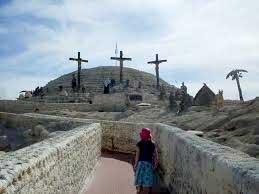 пътят към Голгота трите кръста