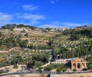 пътят към Голгота Елеонски хълм