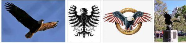 орелът символизира