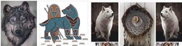 вълкът символизира