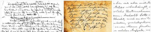 почерк значение графология