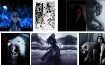 съновник вещица вампир призрак върколак таласъм