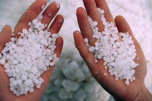 вана с морска сол пир гангрена