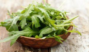 Руколата е полезна за пречистване на тялото от токсините.