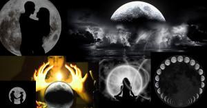 ритуали магии за любов при пълнолуние и новолуние