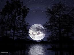 Луната е символ на красотата и любовта