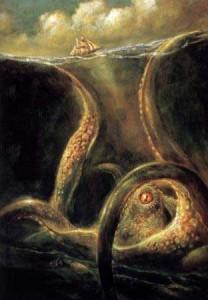 Живо ли е страховитото морско чудовище Кракен?