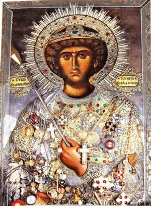 чудотворна икона на Св. Георги от Атон
