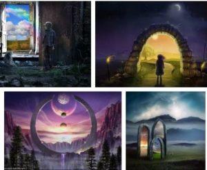енергиен портал паралелни светове