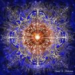 Мрежата на светлинните мандали улавя божествените вибрации