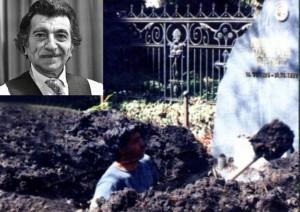 Ужас! Извадиха черепа и костите на Георги Парцалев, за да търсят злато?