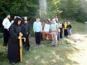 Снимки на чудо с иконата на Света Богородица