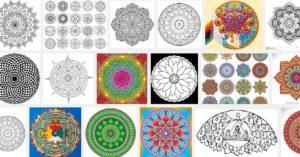 мандала за пари, космограма по Божествената матрица