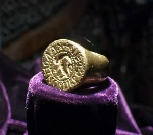 Пръстенът - печат на цар Калоян
