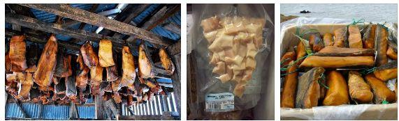 гнило месо акула деликатес