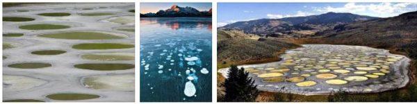 петнистото езеро в канада