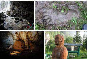 йети русия пещера азаская