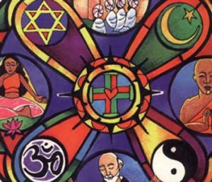 Символи на великите религии
