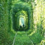 Клеван – най-романтичният тунел на света