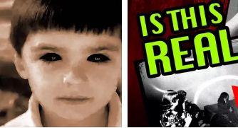 Ужас: Децата с черни очи – заплаха за околните