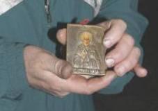 Иконата на Свети Николай в близък план
