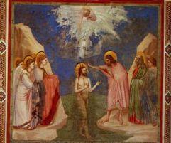 Богоявление - Иисус Христос е кръстен във водите на р. Йордан