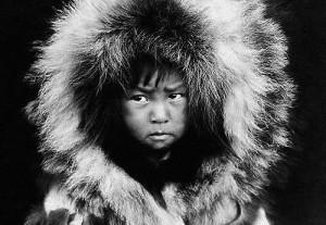 Бъдещ ескимос, сега ескимосче