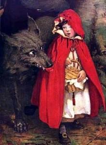 Червената шапчица - стара илюстрация