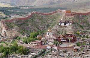 Тибет се намира на високо плато