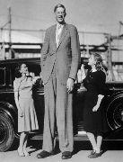 Робърт бил доста по-висок от момичетата
