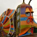 Сграда-охлюв в Симеоново води ТОП50 на странните сгради в света