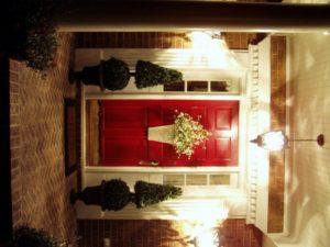 червена врата щастие