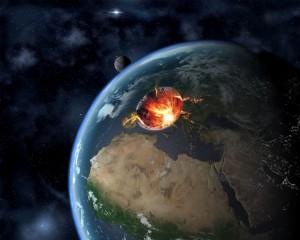 Края на света - черна дупка