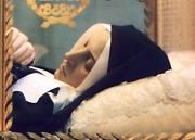 Тялото на сестра Бернадет - запазено нетленно