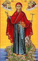 Пресвета Богородица над полуостров Атон