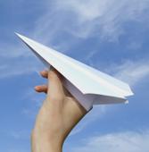 Хартиено самолетче