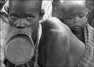 Племето сури е опасно