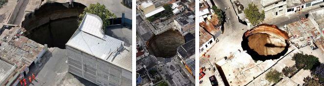 гватемала карстов провал гигантска дупка