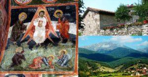 църквата в село Добърско Христос в ракета