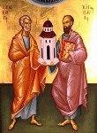 Св.св. Петър и Павел покровители на всички именници