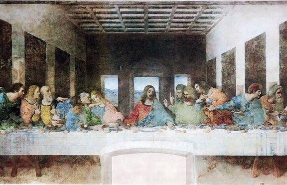 тайната вечеря леонардо да винчи
