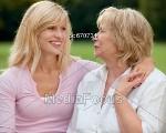 Баба и внучка