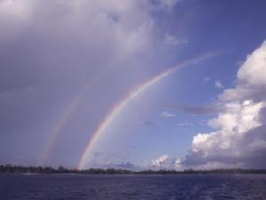 Двойната дъга е чудо на природата
