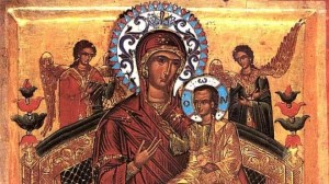 света Богородица Всецарица от манастира Ватопед на Атон