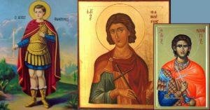 Свети Фанурий - икони от различни краища