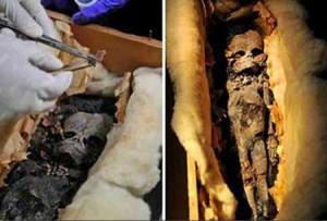 Учени обследват мумията на извънземното