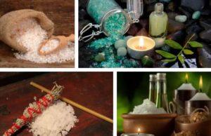 премахване на магия с морска сол
